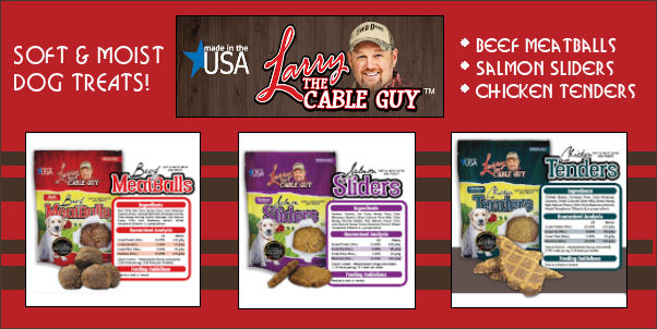 Larry The Cable Guy Dawg Treats