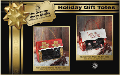 German Muffins Holiday Totes