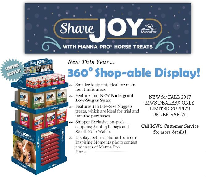 Manna Pro Share Joy Display