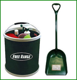 Poly Shovel-Fold Away Bucket