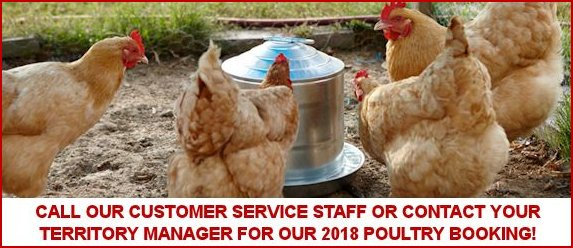2018 Poultry Booking